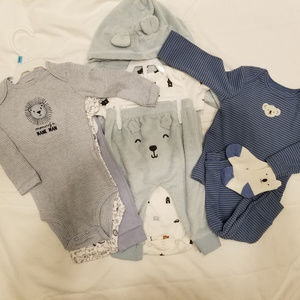 Carters Boys 6 months Set of 3 Out